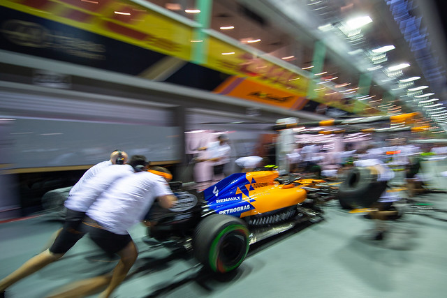 They practise Pit-stop, I practise Panning