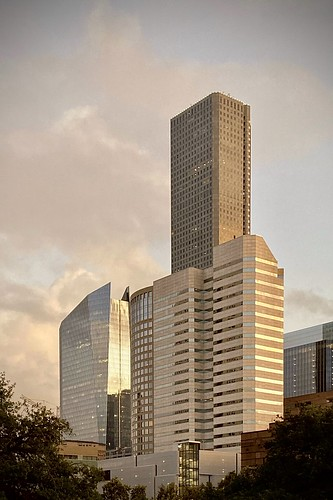 iphone architecture 717texas 609mainattexas harriscounty usa september downtown hines building sunset texas houston 2019 fav10 fav20 fav30