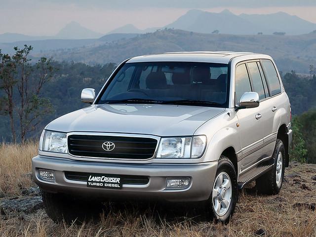 Toyota Land Cruiser (101) '12.1997–2007