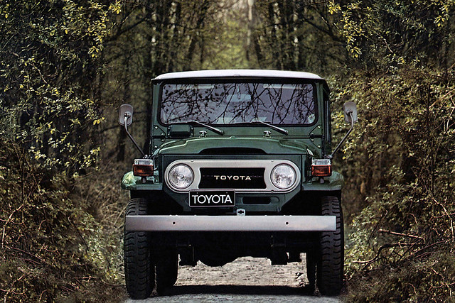 Toyota Land Cruiser (40) '04.1960–11.2001