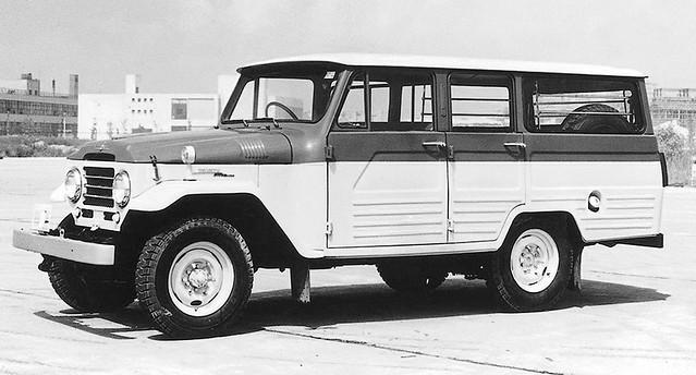 Toyota Land Cruiser (21) '02.1955–04.1960