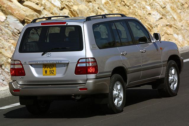 Toyota Land Cruiser (100) '12.1997–2007