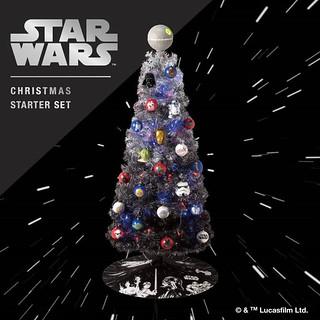 會唱《帝國進行曲》的聖誕樹!STAR WARS『クリスマススターターセット』初回限定3000盒 滿滿原力星戰迷不能錯過