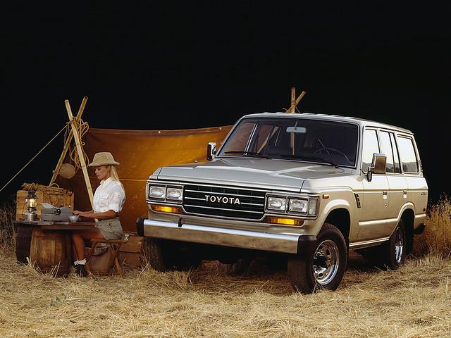 Toyota Land Cruiser (61) '1980–90