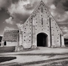 Great Coxwell Medieval Barn, Faringdon, Oxfordshire, England
