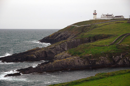 The lighthouse at Galley Head, Ireland