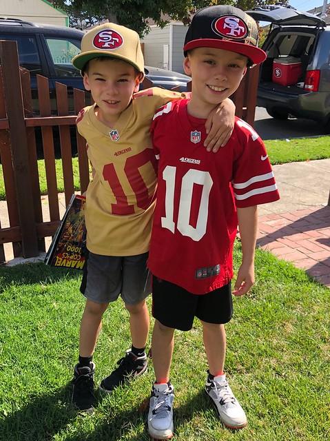 My grandsons, Marcello & Lucciano.