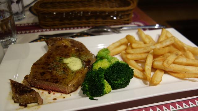 沙朗牛排(套餐 TWD$529)@台北Roots Lodge Cafe