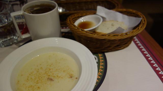 焦化培根鮮蔬濃湯 (TWD$180)@台北Roots Lodge Cafe