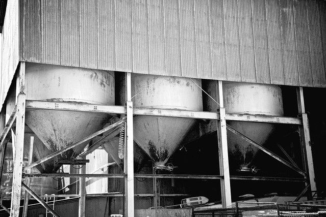 Retired Cement Plant Industrial Abstraction