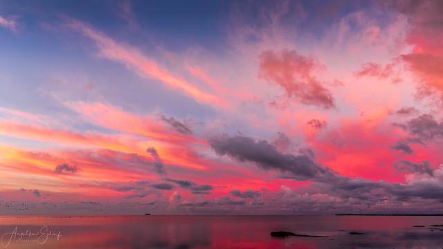Sunrise over Foehr