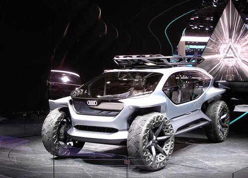 Audi AI:Trail quattro Concept Photo