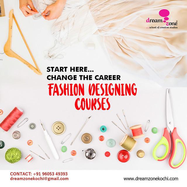Fashion Design Courses In Kochi Dreamzone S School Of Fash Flickr