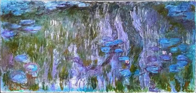 1916 Monet Nynpheas reflets de saule,restauro digitale(NMWA Tokyo)