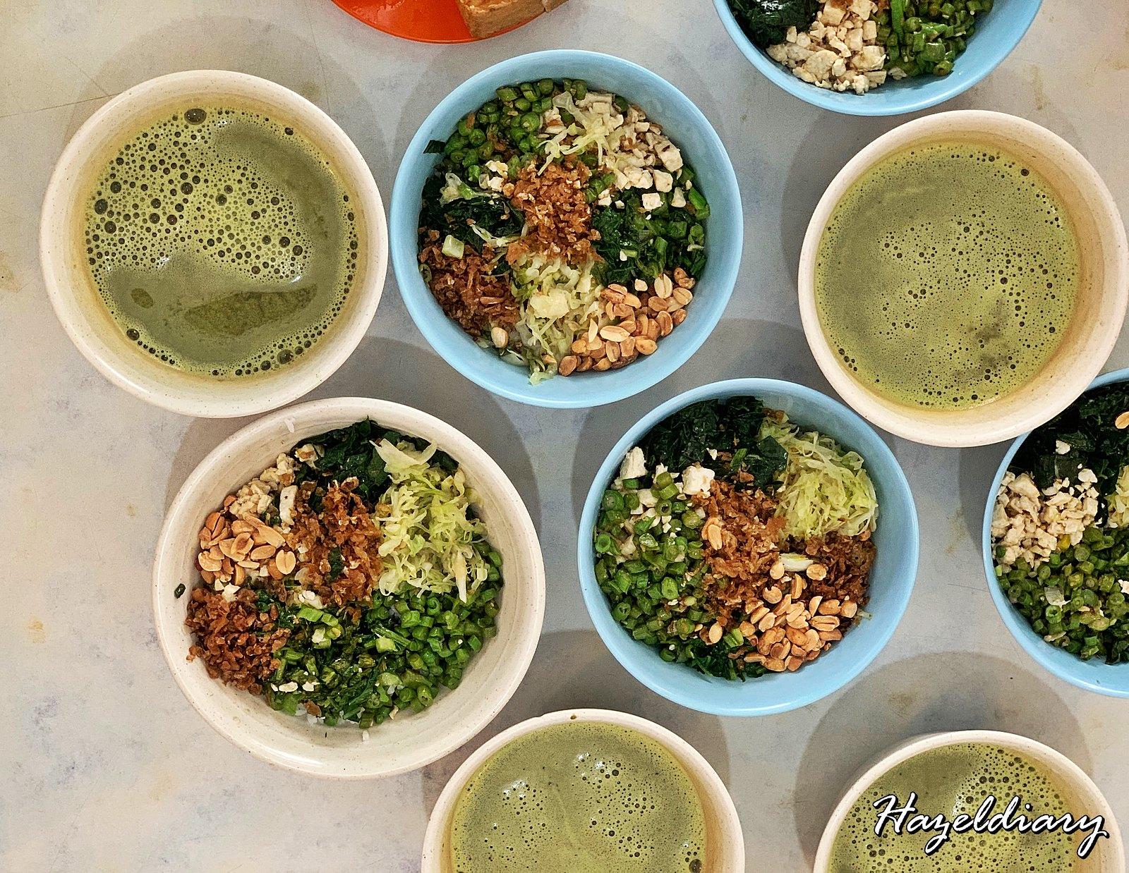 [JB EATS] Restoran Ming Xuan –Hakka Lei Cha ( Thunder Tea Rice) in Kulai | Johor