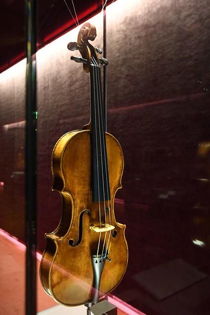 Cremona, Museo del Violino, Andrea Guarneri (1626-1698), violino 1659