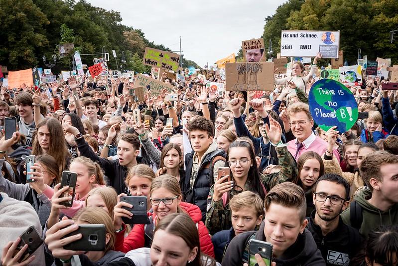 Globaler Klimastreik am 20.9.2019, Fotos aus Berlin