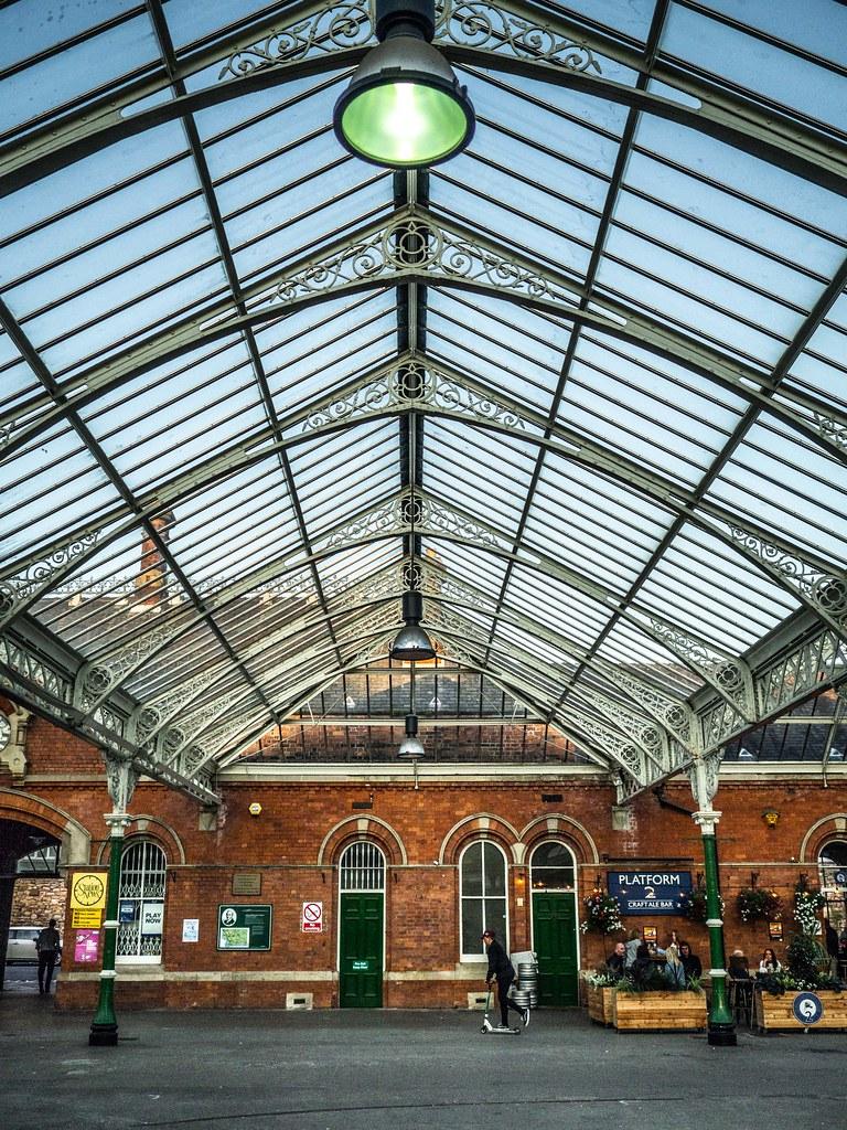 Tynemouth. Metro Station.