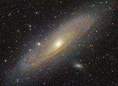 Andromeda galaxy HaLRGB
