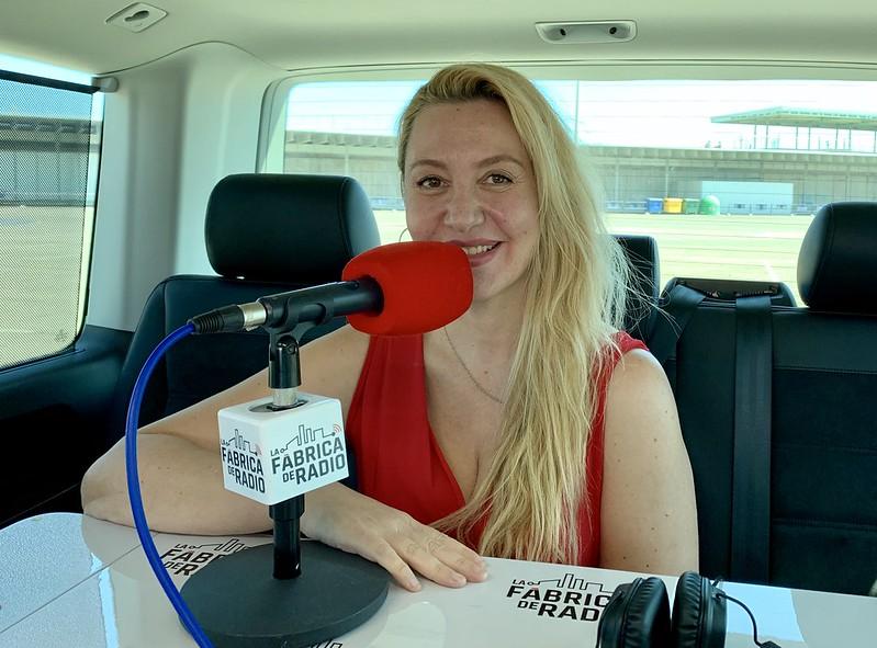 Foto 2019 09 23 Marlen Fernandez Todo ira Bien La Fabrica de Radio Paco Cremades