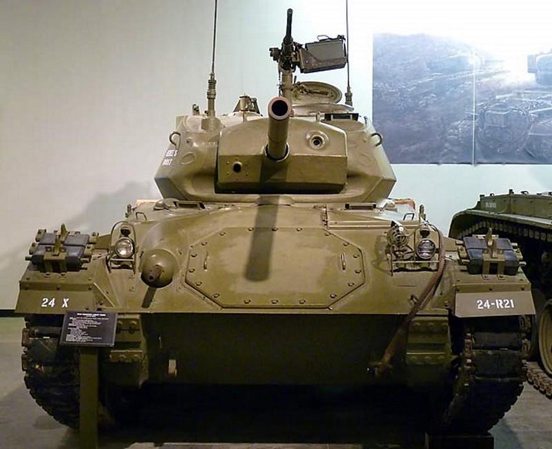 M24 Чаффи легкий танк 21