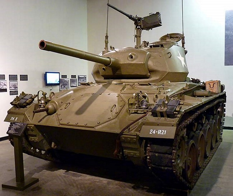 M24 Chaffee Light Tank 1