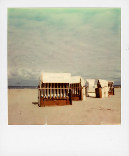 Les corbeilles, plage de Merville-Franceville