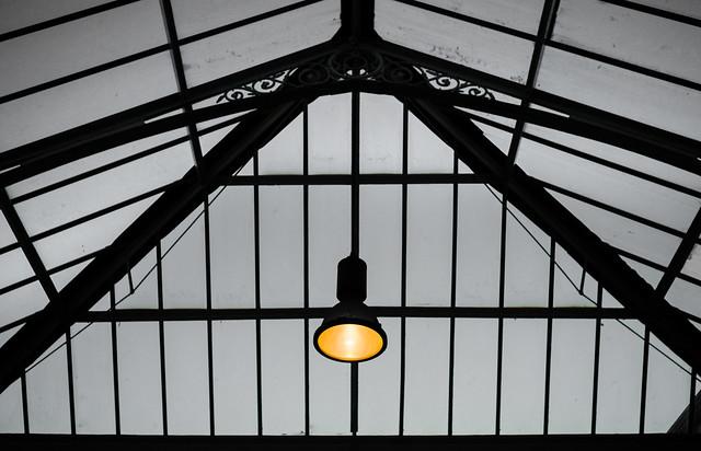 Light aloft. . .