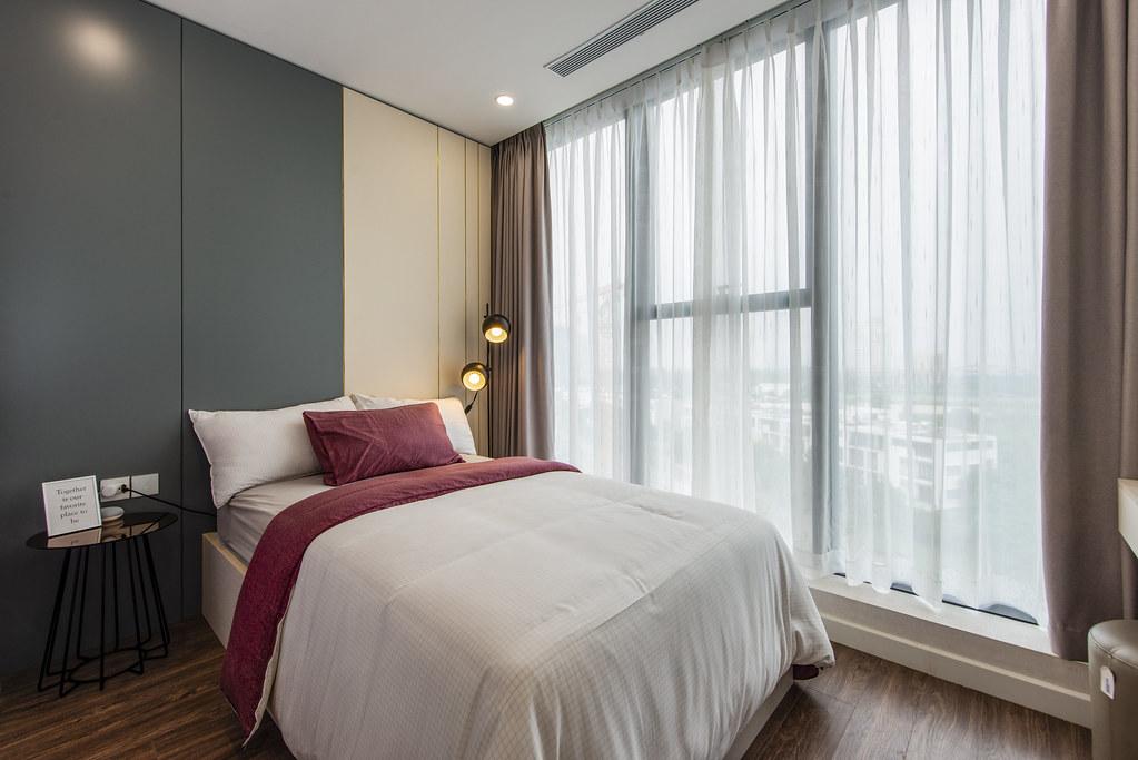 Tham quan căn hộ nhà mẫu 2 phòng ngủ Sunshine City Saigon Quận 7 12