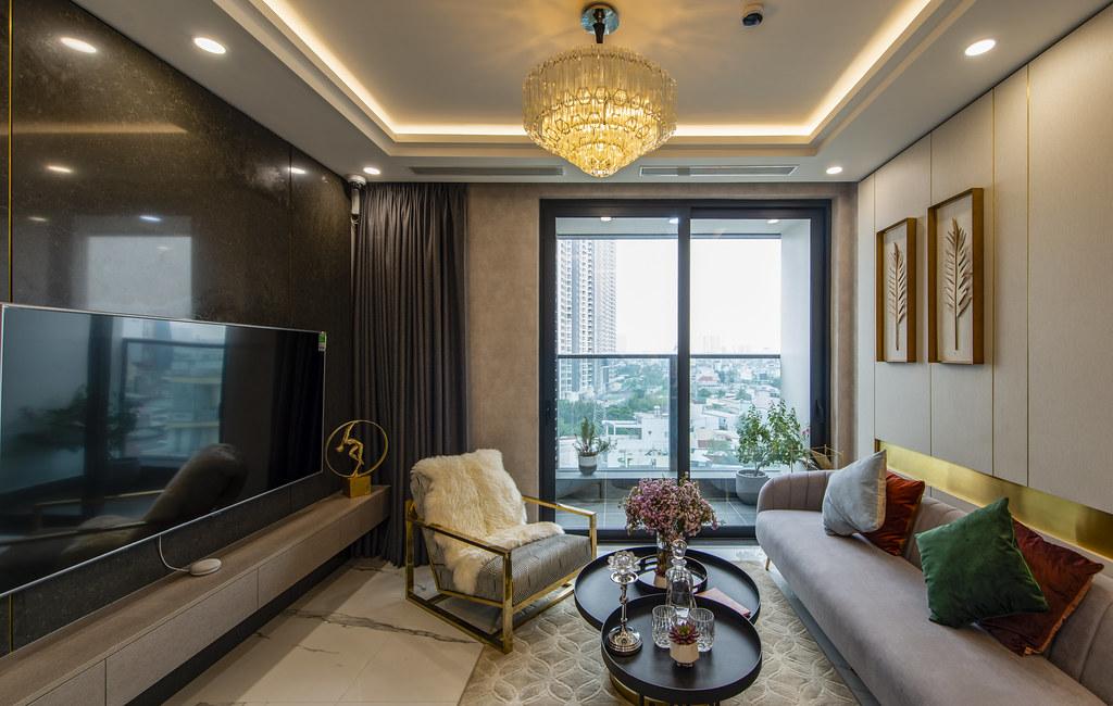 Tham quan căn hộ nhà mẫu 2 phòng ngủ Sunshine City Saigon Quận 7 3