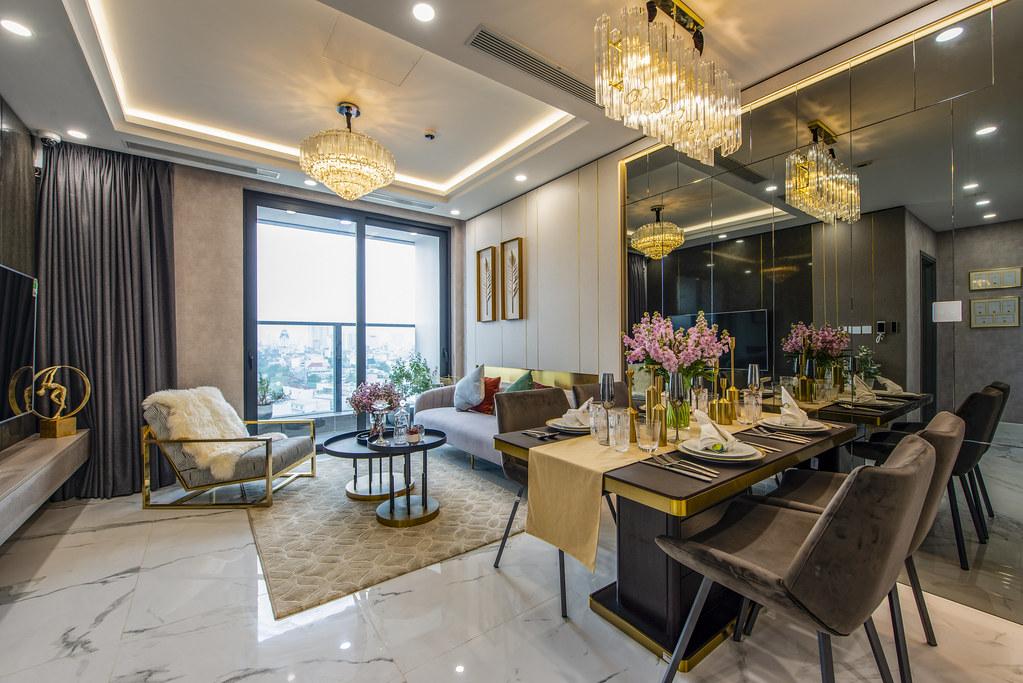 Tham quan căn hộ nhà mẫu 2 phòng ngủ Sunshine City Saigon Quận 7 1