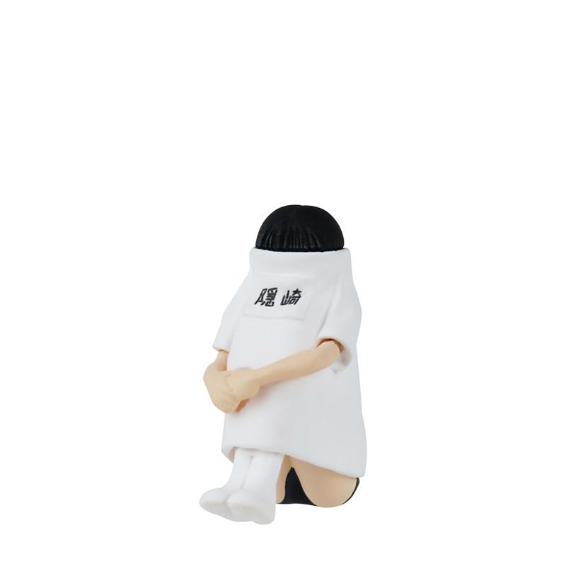 「顔面妄想系列」重出江湖!隠崎小姐看不見臉的爆笑日常轉蛋 TAMA-KYU 《顔面妄想シリーズ 隠崎さん》全五款