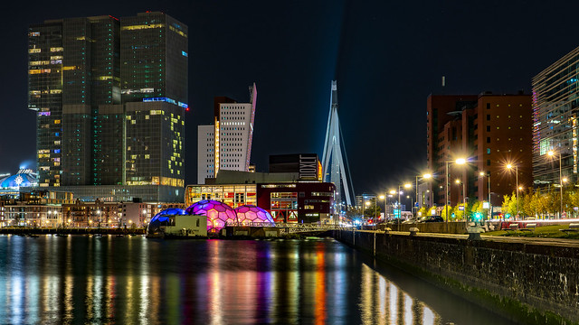 Rotterdam@night