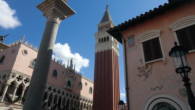Florida - Orlando: EPCOT Center, Walt Disney World - World Showcase -> Italy- a piece of Venice in USA