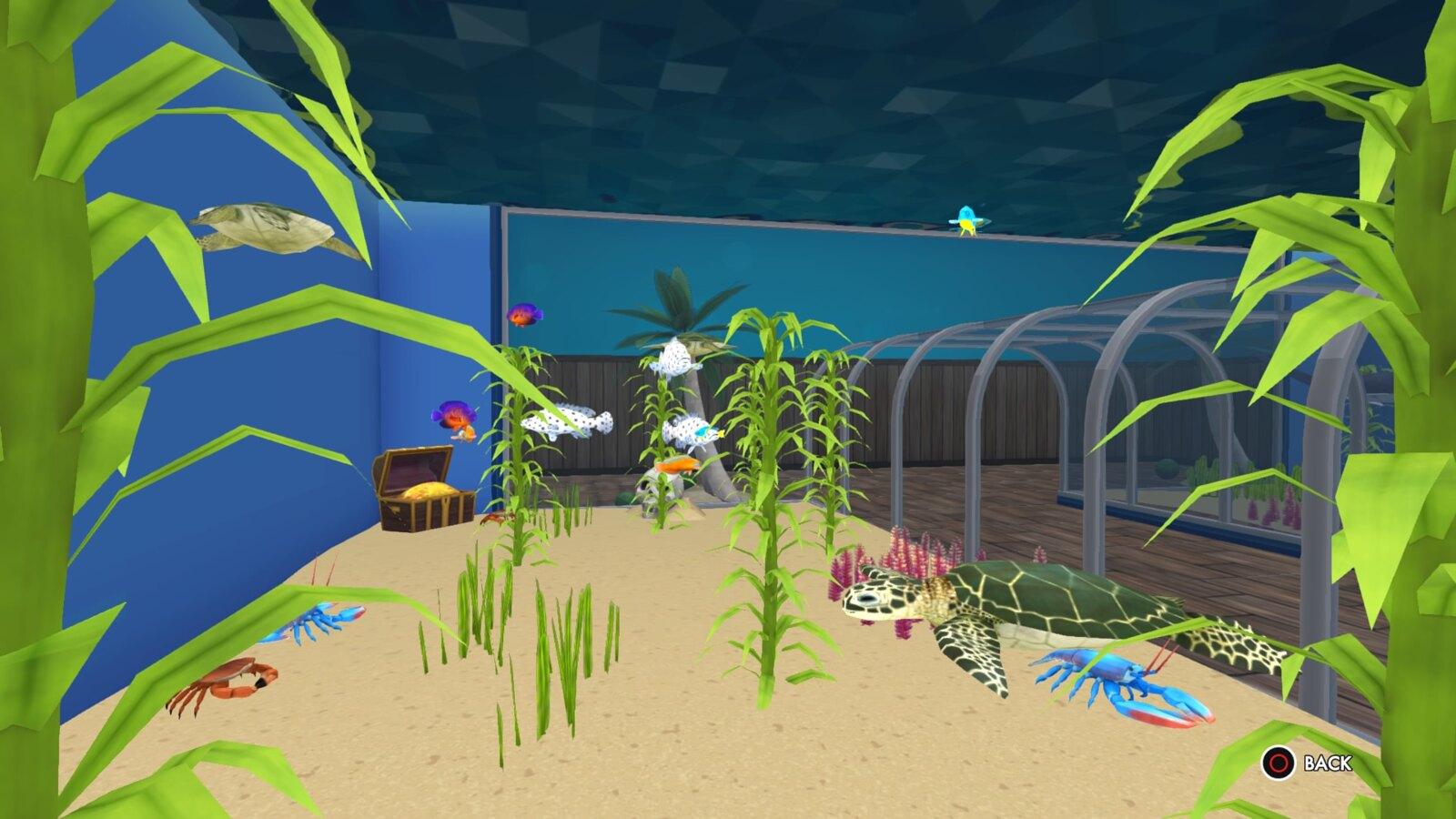 Megaquarium on PS4