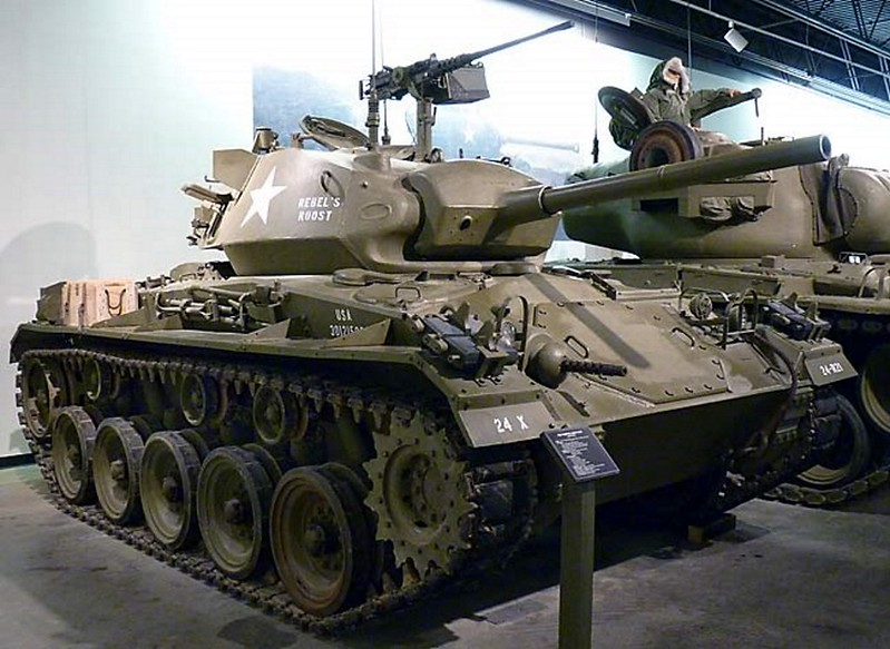M24 Chaffee Light Tank 2