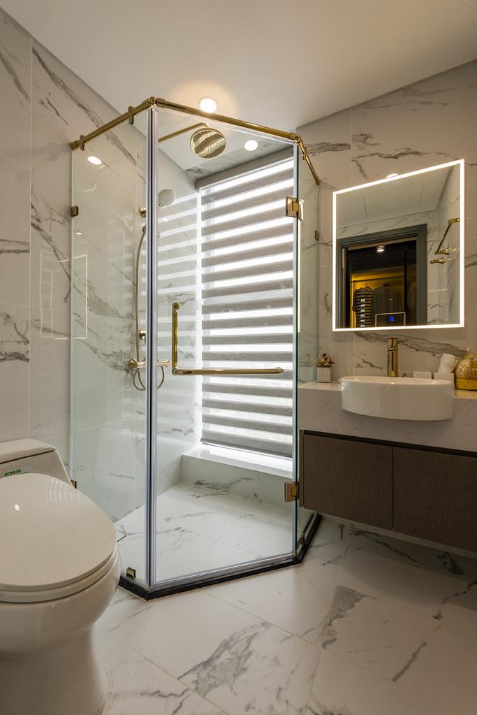 Tham quan căn hộ nhà mẫu 2 phòng ngủ Sunshine City Saigon Quận 7 20