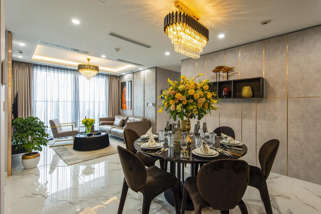 Căn hộ nhà mẫu 4pn Sunshine City Saigon - Đẳng cấp quý tộc 3