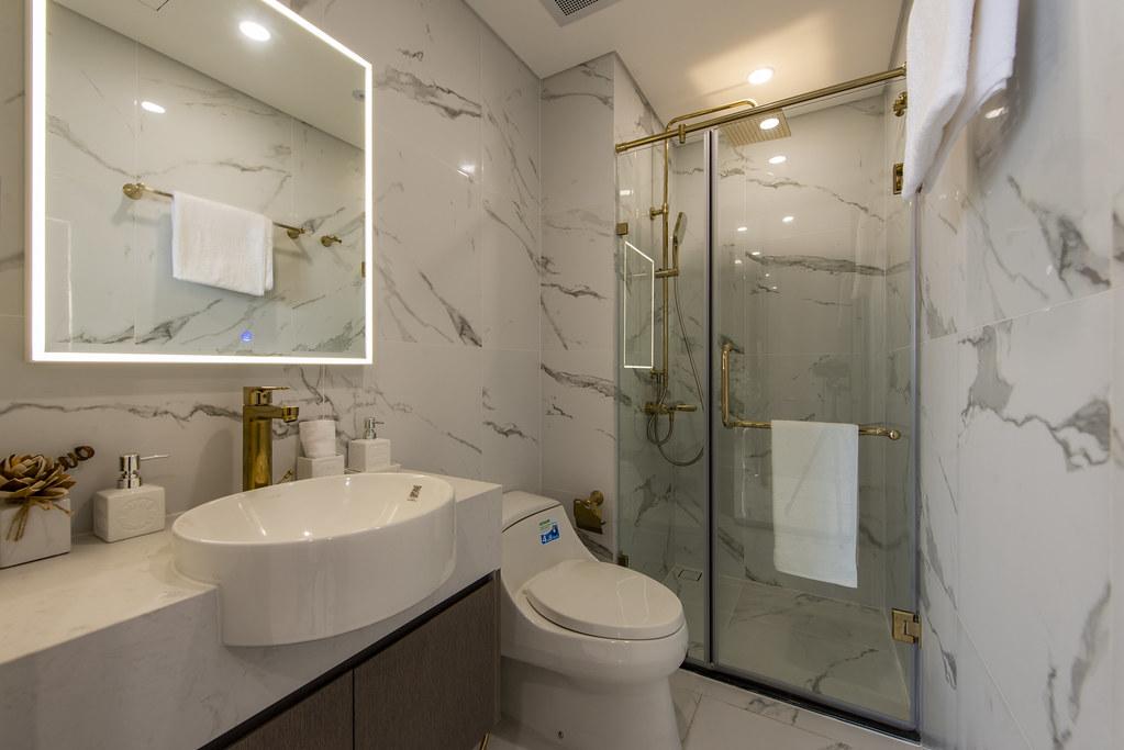Tham quan căn hộ nhà mẫu 2 phòng ngủ Sunshine City Saigon Quận 7 14