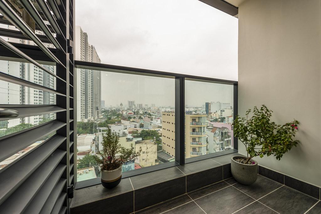 Tham quan căn hộ nhà mẫu 2 phòng ngủ Sunshine City Saigon Quận 7 10