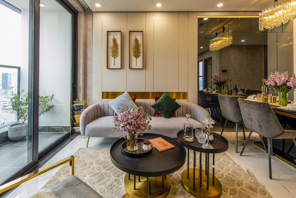 Tham quan căn hộ nhà mẫu 2 phòng ngủ Sunshine City Saigon Quận 7 8