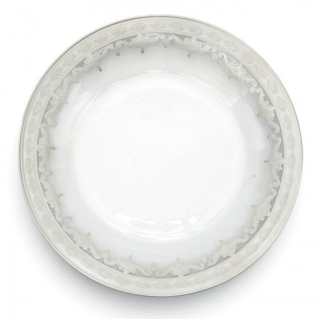 Arte Italica Vetro Silver Charger