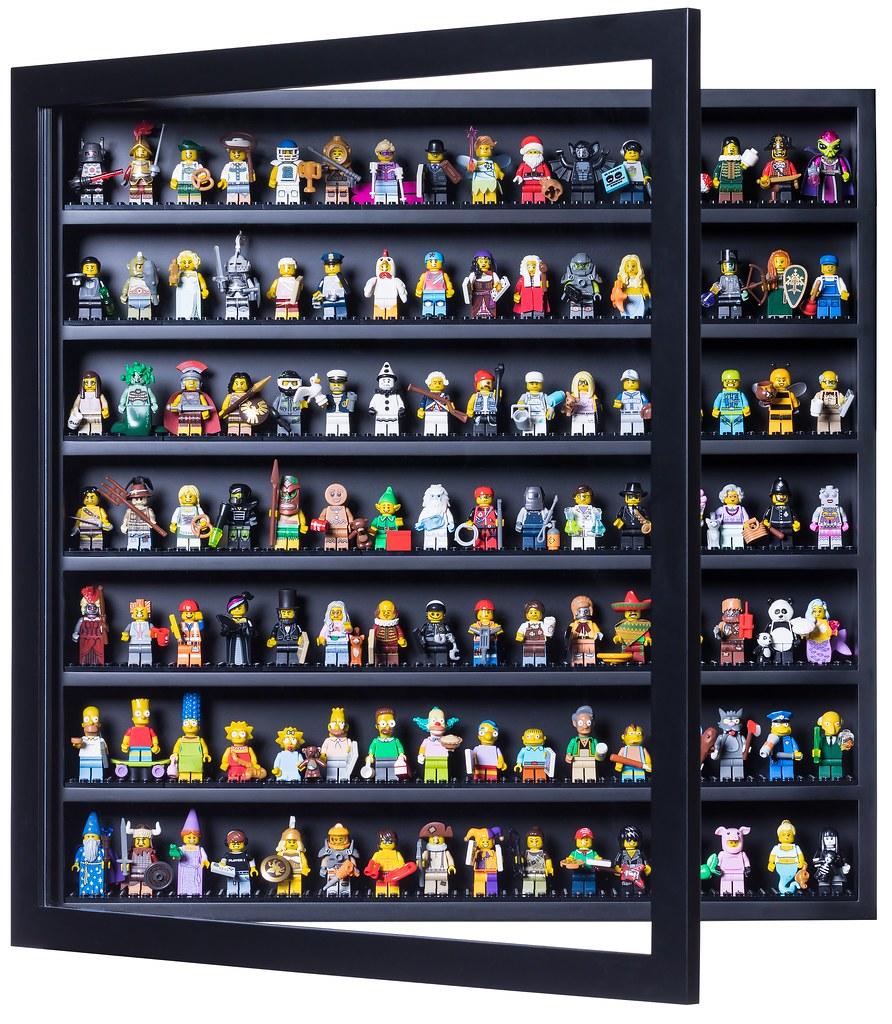 Lego Minifigure Display Case Frame Star Wars classic