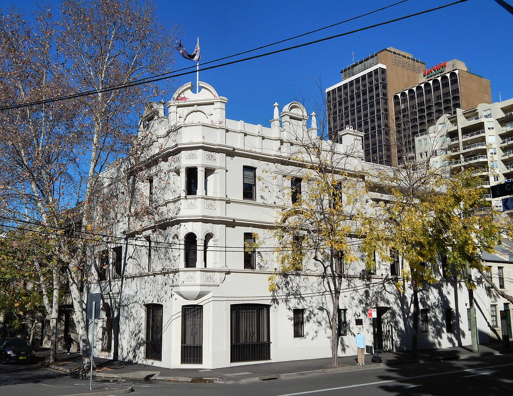 Ex Australian Hotel, Woolloomooloo, Sydney, NSW.