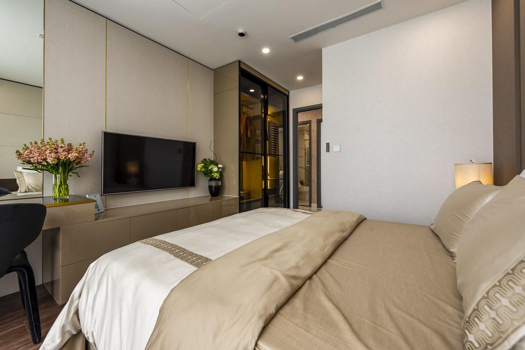 Tham quan căn hộ nhà mẫu 2 phòng ngủ Sunshine City Saigon Quận 7 21
