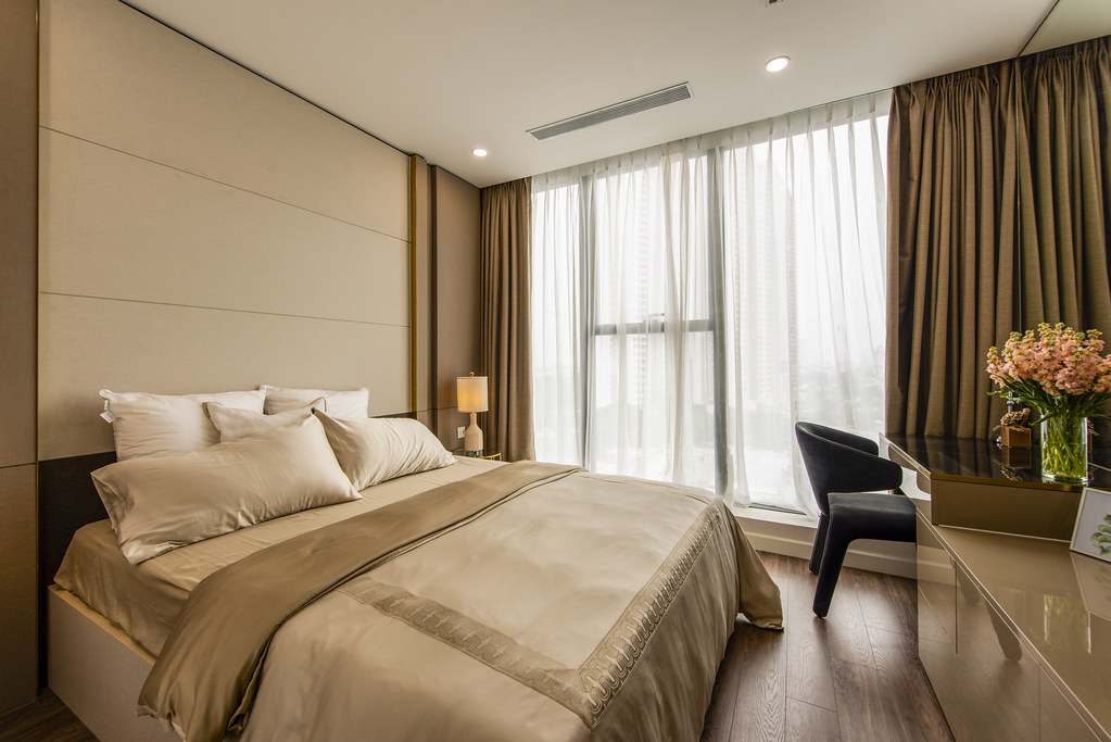 Tham quan căn hộ nhà mẫu 2 phòng ngủ Sunshine City Saigon Quận 7 15