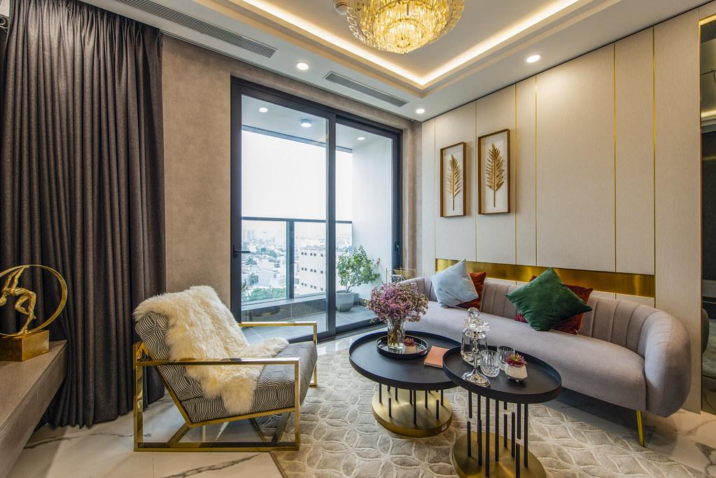 Tham quan căn hộ nhà mẫu 2 phòng ngủ Sunshine City Saigon Quận 7 7