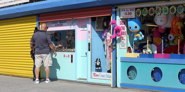 Window Shopping in Coney Island2