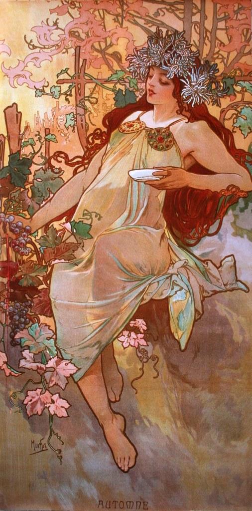 Automne (Alphonse Mucha, 1896)