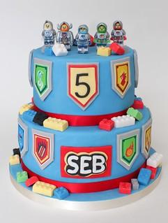 nexo knights cake